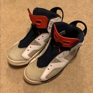 Jordan retro 6 tinker 100% authentic pre owned
